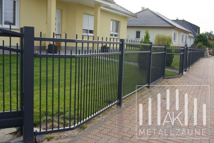 Ak Metal Zaune Aus Polen Schorn 3 Zaun Anthrazit Matt