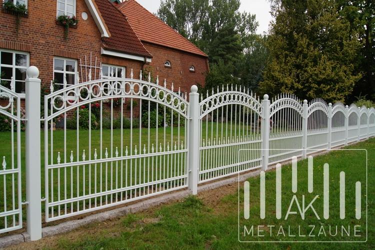Ak Metal Zaune Aus Polen Muster Auf Besonderen Wunsch