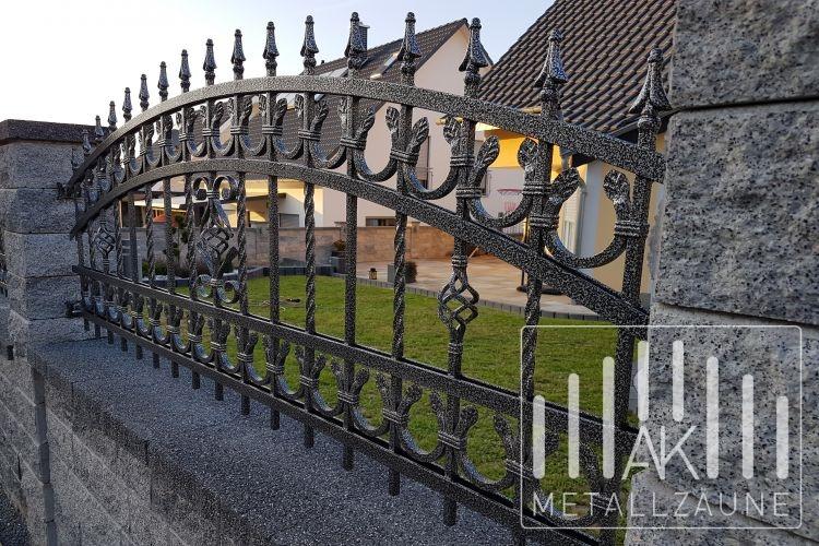 Ak Metal Zaune Aus Polen Landsberg Zaun 2 Schmiedeeiserne Z Une