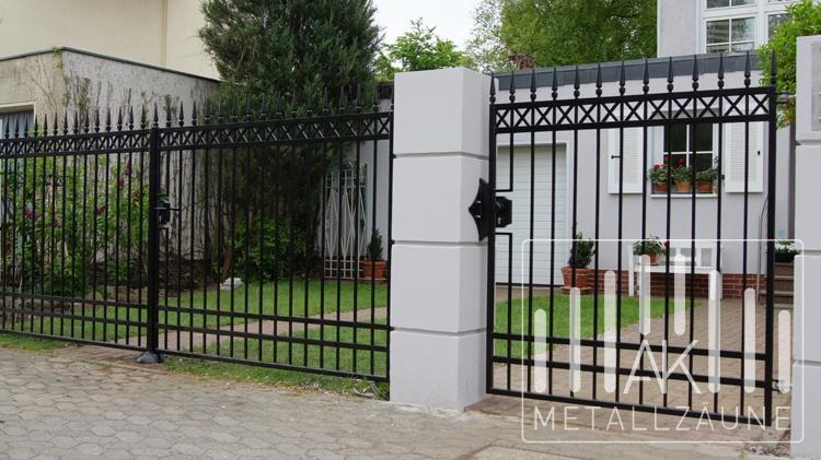 Ak Metal Zaune Aus Polen Augsburg Schwarz
